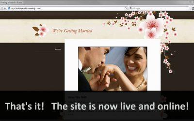 Do It Yourself – Tutorials – Weebly Website Creator – Demo Video