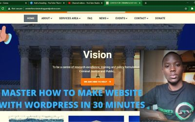 Do It Yourself – Tutorials – how to make WordPress website for beginners in 30 minutes/ how to make website with wordpress