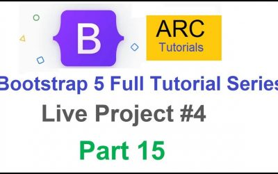 Do It Yourself – Tutorials – Bootstrap 5 Tutorial For Beginners #15 – Live Project #4   Design your own website using Bootstrap