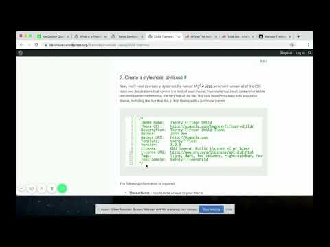 How to Create a Custom WordPress Theme | Wordpress Tutorial
