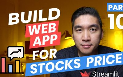 Do It Yourself – Tutorials – How to Build a Stocks Price Web App in Python (Streamlit Tutorial Part 10)