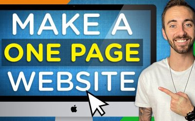 Do It Yourself – Tutorials – How To Create A One-Page Website (In WordPress)   2020