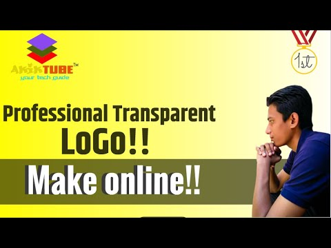 How To Create a logo without any software. Bangla Tutorial