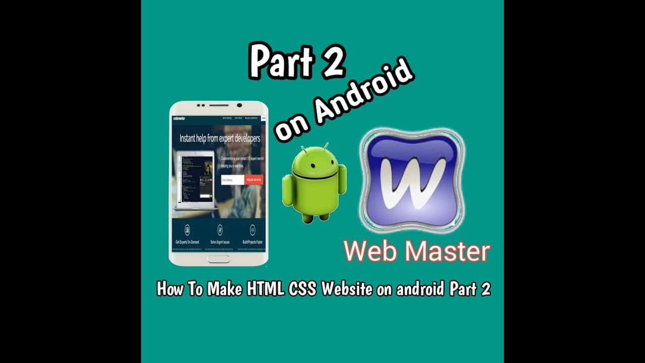 [How To make HTML CSS website on android part 2] Design form Login