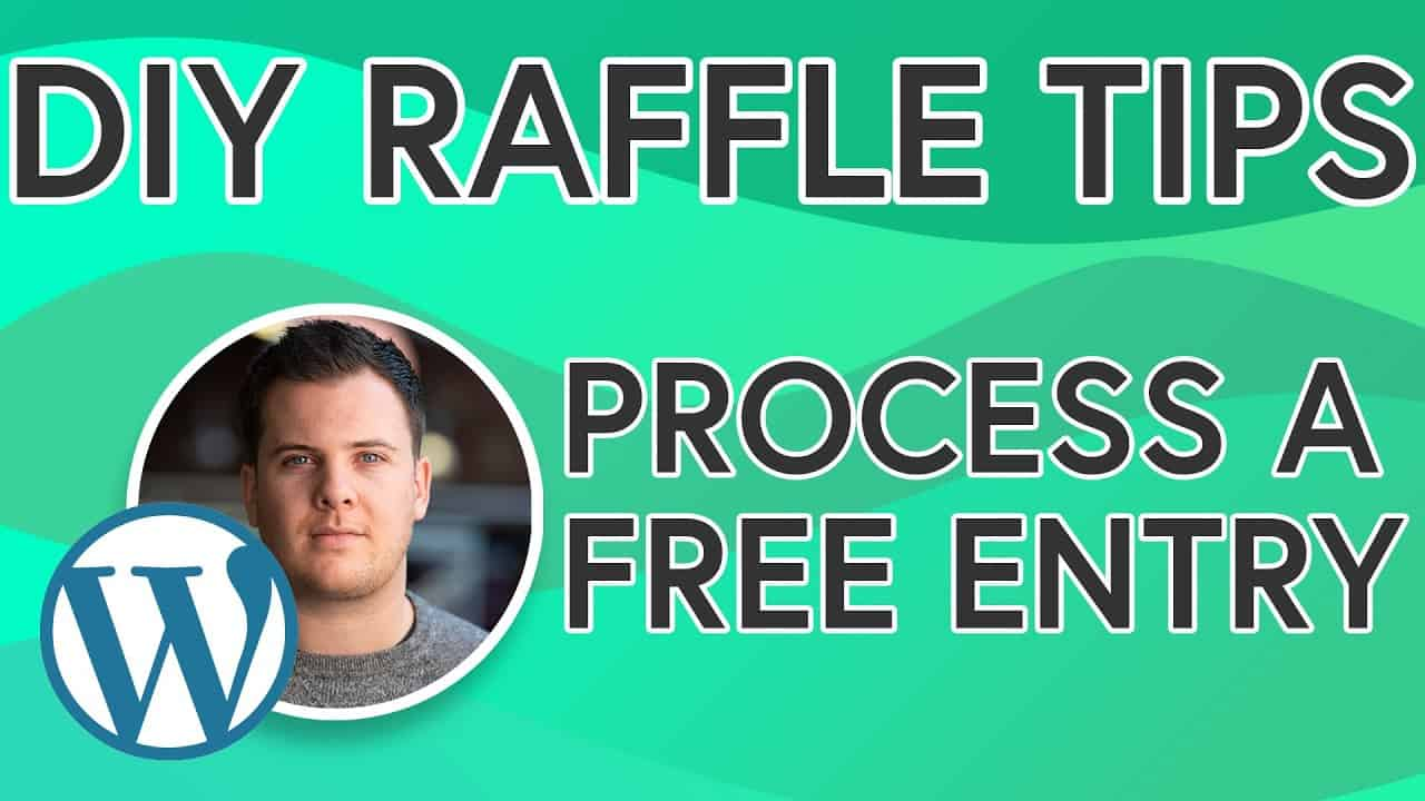 DIY Raffle Website Tips: How To Process A Free Entry Order - [TIP 2] Build Your Own Raffle Site