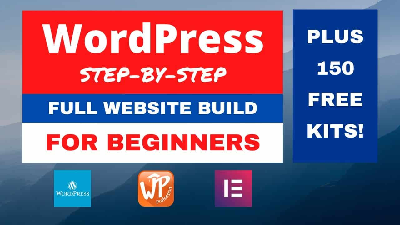 How to Build a Free Website with WordPress Step-by-Step for Beginners Tutorial