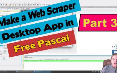 Do It Yourself – Tutorials – How to Make a web scraper Pascal Lazarus Tutorial Pt3 – HTTPClient Requests GET HTML final