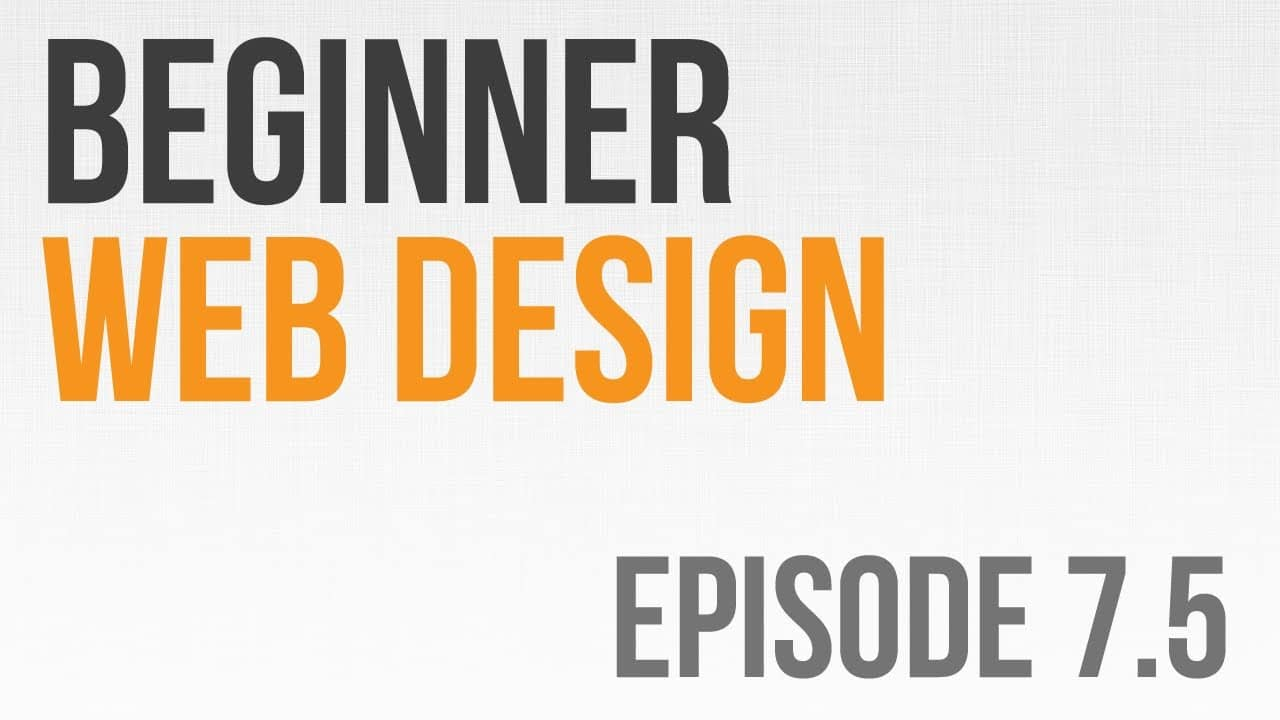 Beginner Web Design Ep. 7.5: CSS Text Examples