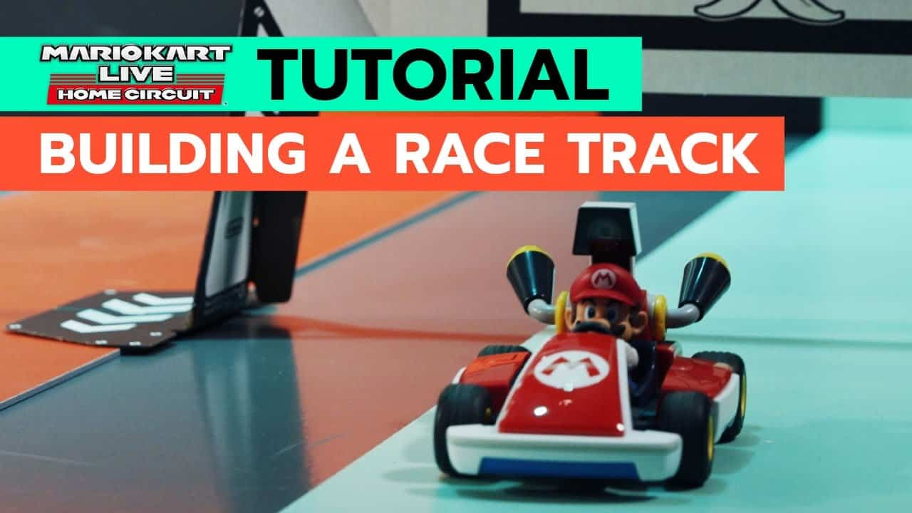 How to Build a Race Track in Your Living Room w/ Mario Kart Live: Home Circuit | Tutorial
