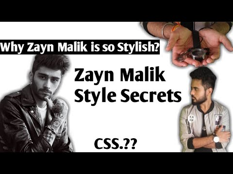 Zayn Malik Style Secret || Why Zayn Malik Look so Stylish.? || CSS || Alpha TV || Hindi||
