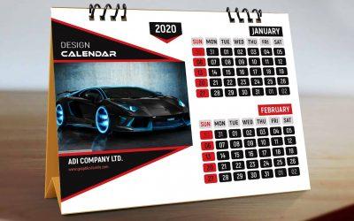 Do It Yourself – Tutorials – Adobe Photoshop Tutorial – Professional Calendar Design Template
