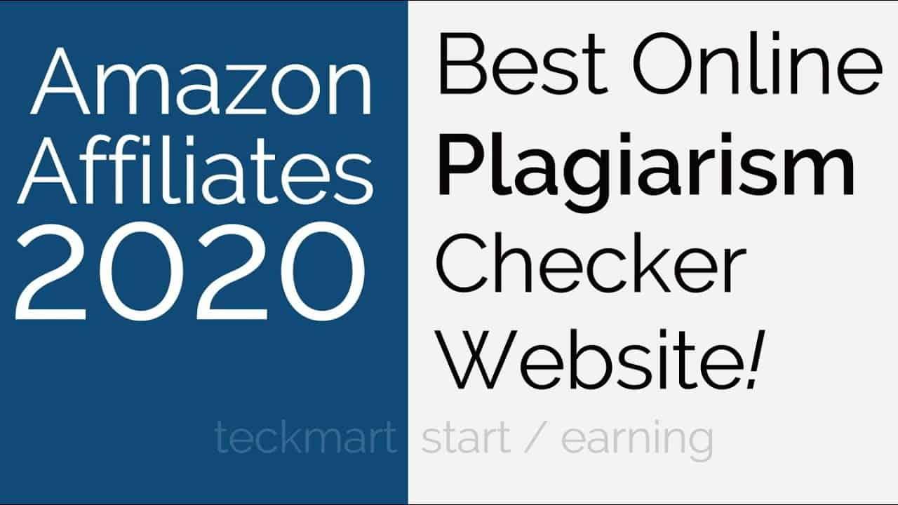 Best Plagiarism Checker Website For Blogger & Amazon Affiliates Hindi