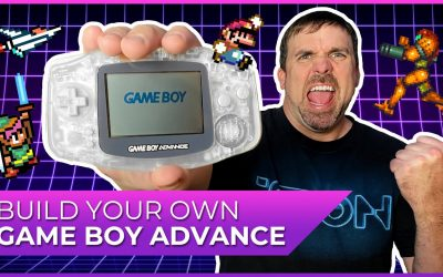 Do It Yourself – Tutorials – Build Your Own Gameboy Advance!