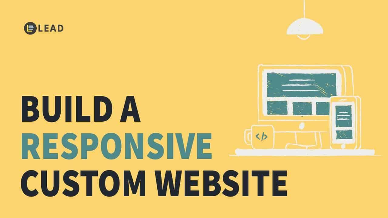 Build your custom company website - full tutorial