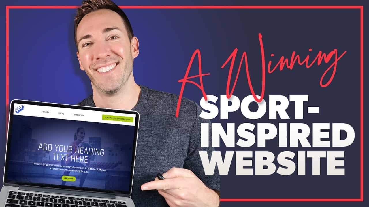 Create Your Own Athletic-Inspired Website: An Elementor Wordpress Tutorial