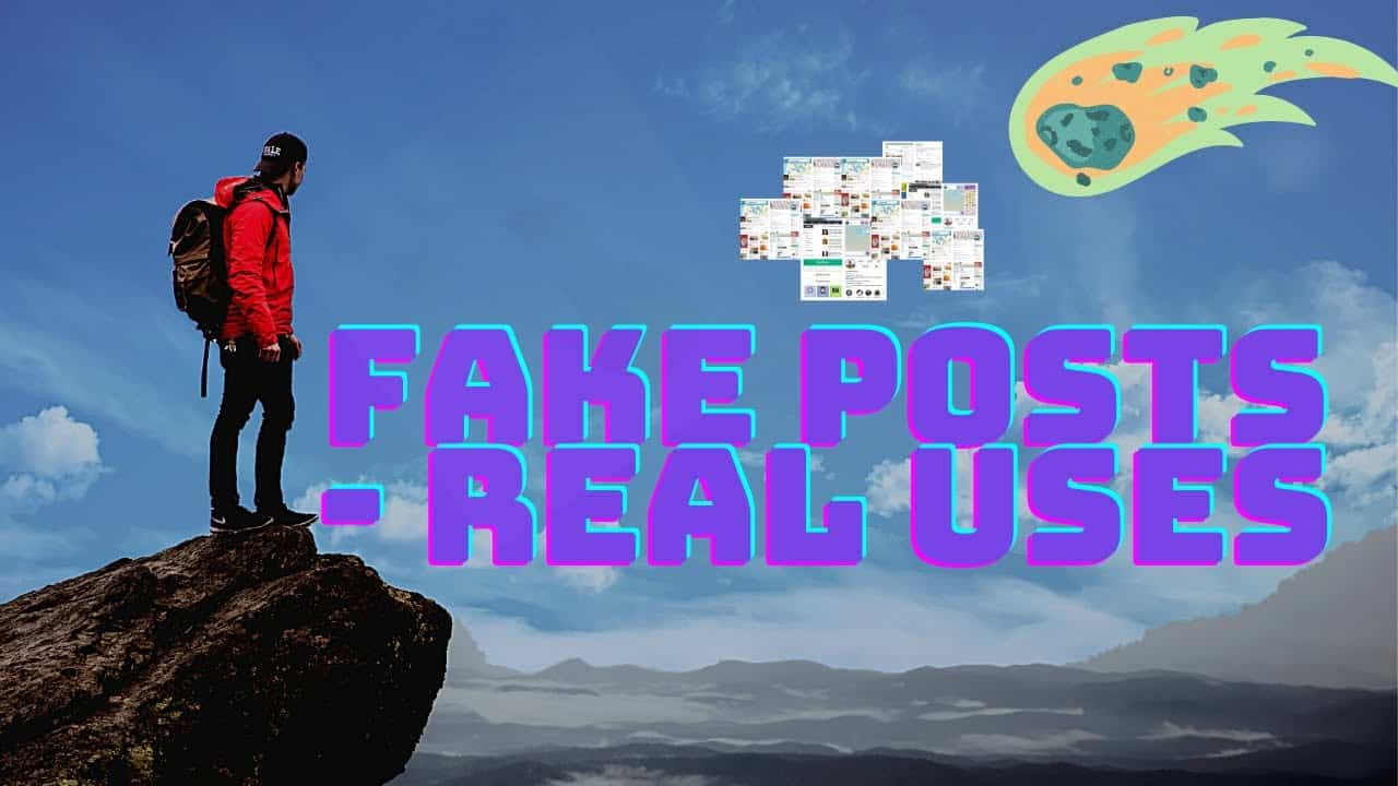 Create Your Own Social Media Website for Free: Adding Fake Posts from Real Users (THANK ME LATER)