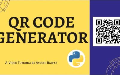 Do It Yourself – Tutorials – Create your own QR Code   Python project   Easy Tutorial