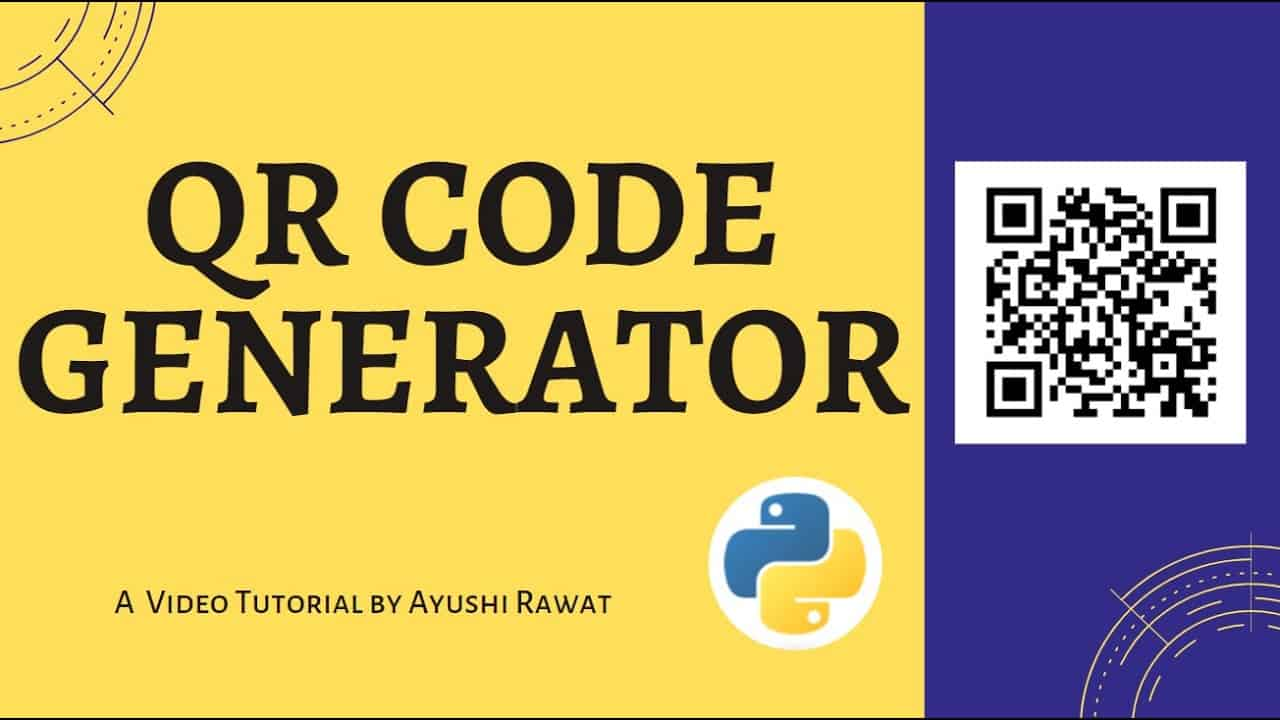 Create your own QR Code | Python project | Easy Tutorial