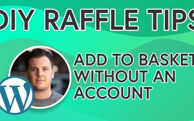 Do It Yourself – Tutorials – DIY Raffle Website Tips: Add Prize To Basket Without An Account – [TIP 1] Build Your Own Raffle Site