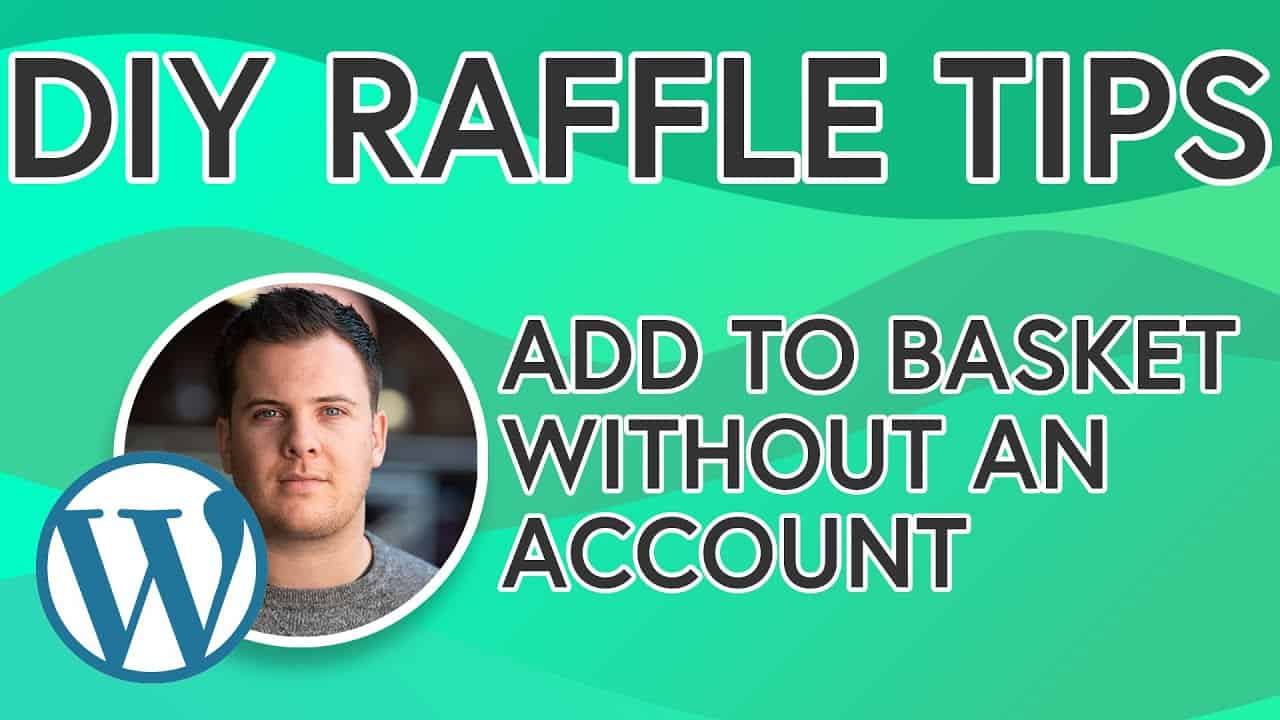 DIY Raffle Website Tips: Add Prize To Basket Without An Account - [TIP 1] Build Your Own Raffle Site