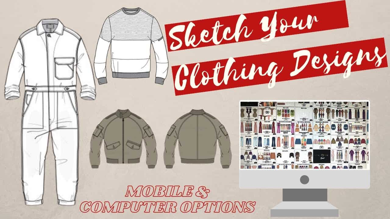 Design Your Own Clothing Line: Apps & Software to Sketch Your Clothing Designs