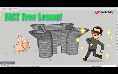 Do It Yourself – Tutorials – Design your OWN Castle using Sketchup for FREE in a Browser!