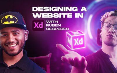 Do It Yourself – Tutorials – Designing a Website In Adobe XD (Tutorial) – with Ruben Cespedes