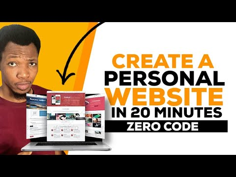 HOW TO CREATE A PERSONAL/PORTFOLIO WEBSITE ON WORDPRESS FAST IN 2021| BUILD YOUR WEBSITE LIKE A PRO