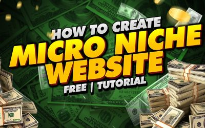 Do It Yourself – Tutorials – How To Create Micro Niche Website Free   Tutorial