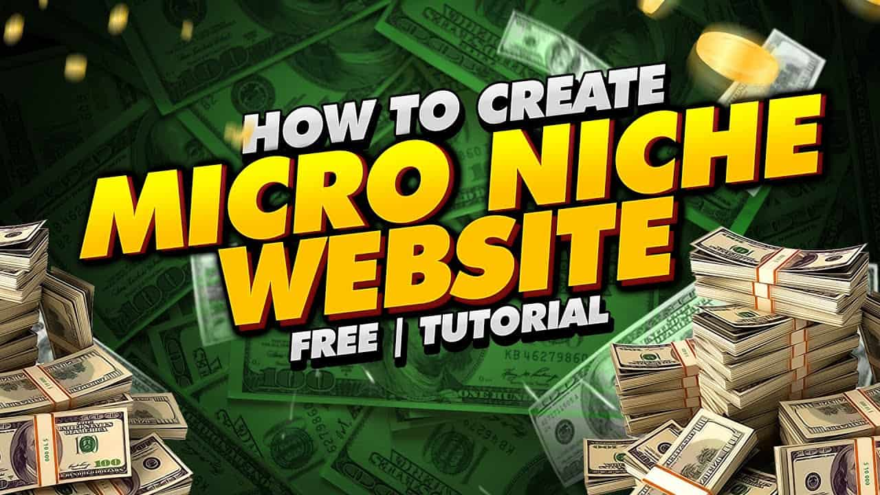 How To Create Micro Niche Website Free | Tutorial