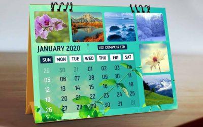 Do It Yourself – Tutorials – How To Make Calendar Design in Photoshop