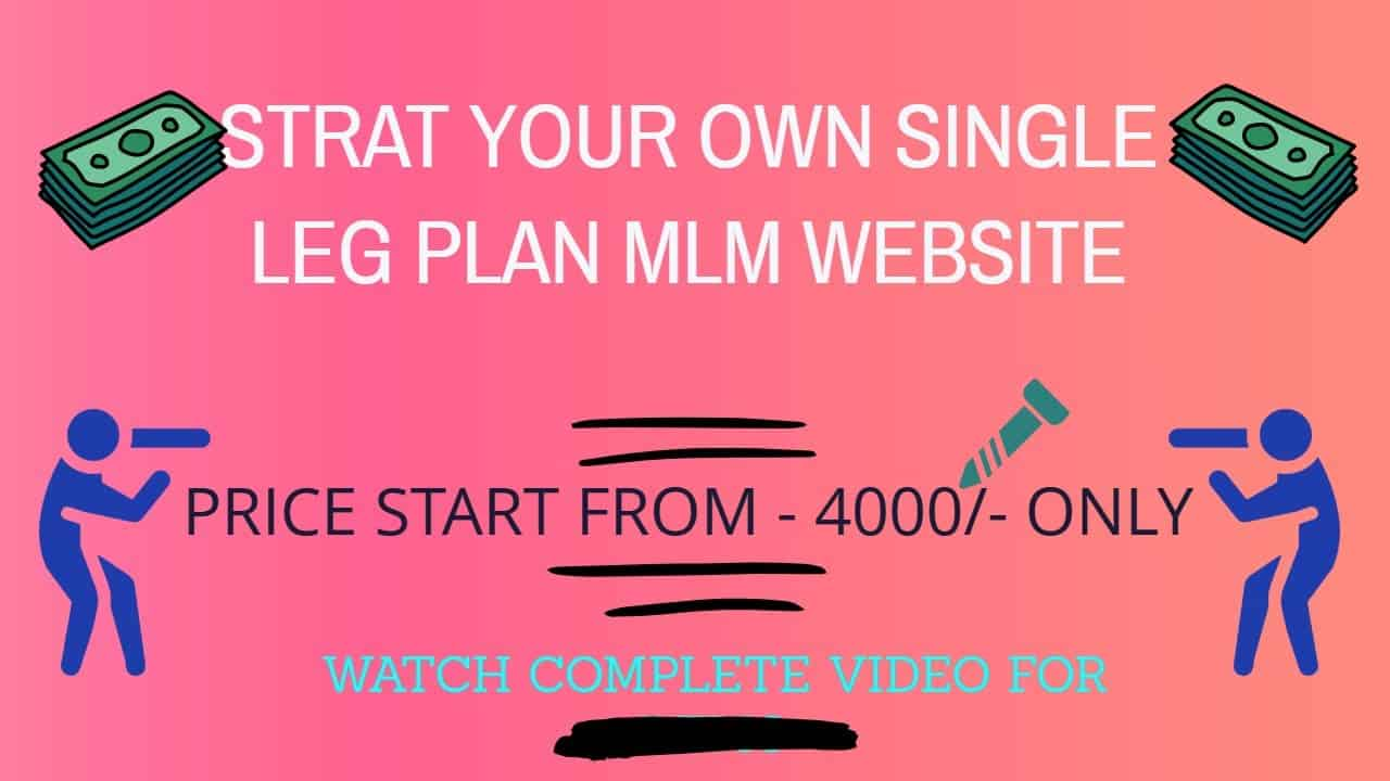 How To Make MLM Website In PHP (Hindi 2020)    Create your own single leg MLM website   Watch Demo