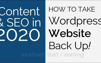 Do It Yourself – Tutorials – How To Take WordPress Website Manual Backup From Cpanel Hindi