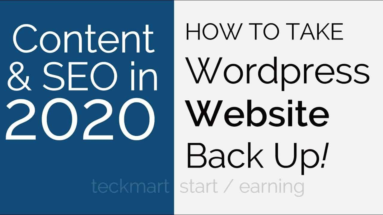 How To Take Wordpress Website Manual Backup From Cpanel Hindi