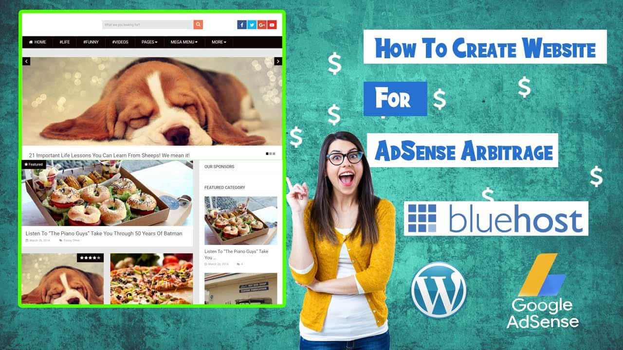How to ⛏  Build Your Own Website For AdSense  | Adsense Arbitrage Free Course Part 1