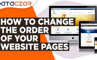 Do It Yourself – Tutorials – How to Change the Order of Your Website Pages