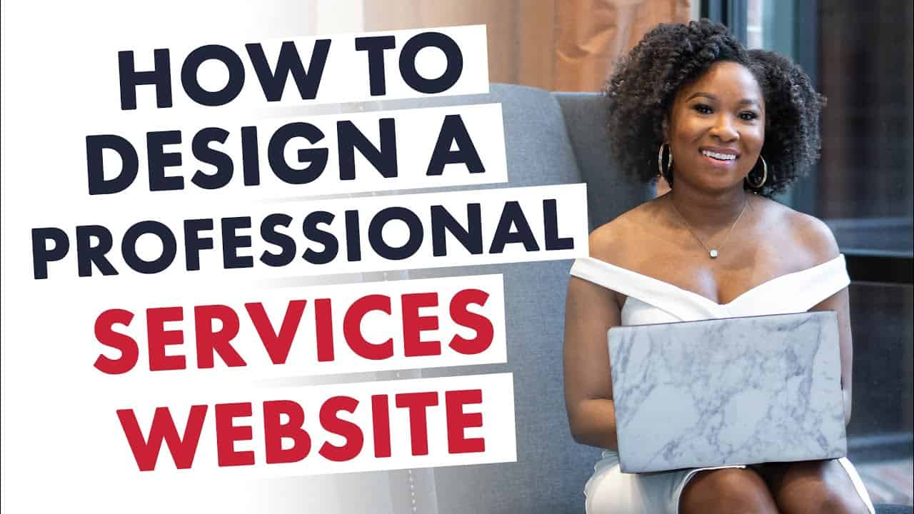 How to Design a Professional Services Website | Coaches Work with Me Page