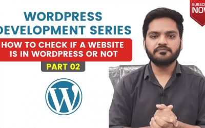 Do It Yourself – Tutorials – How to check if a Website is in WordPress or Not   WordPress Tutorial in Hindi Part 02 by M.O.M