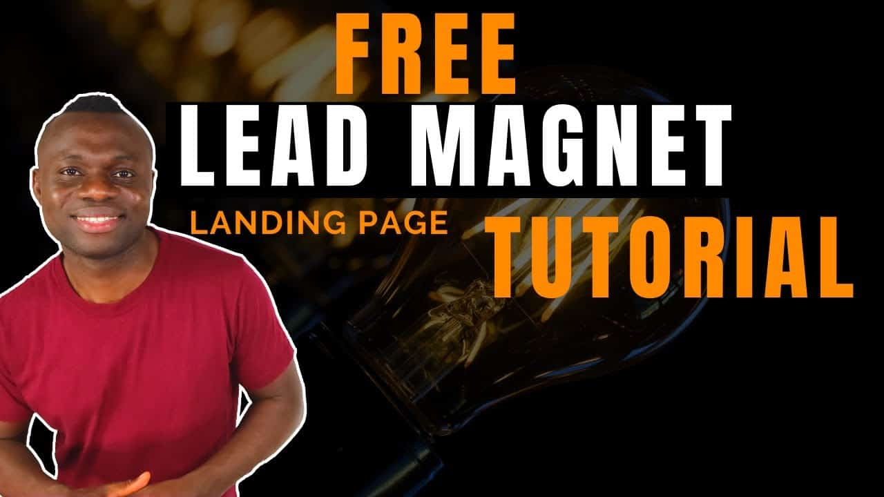 How to create Lead Magnet & Free Landing Page for your Sales Funnel Using New Google Sites -Tutorial