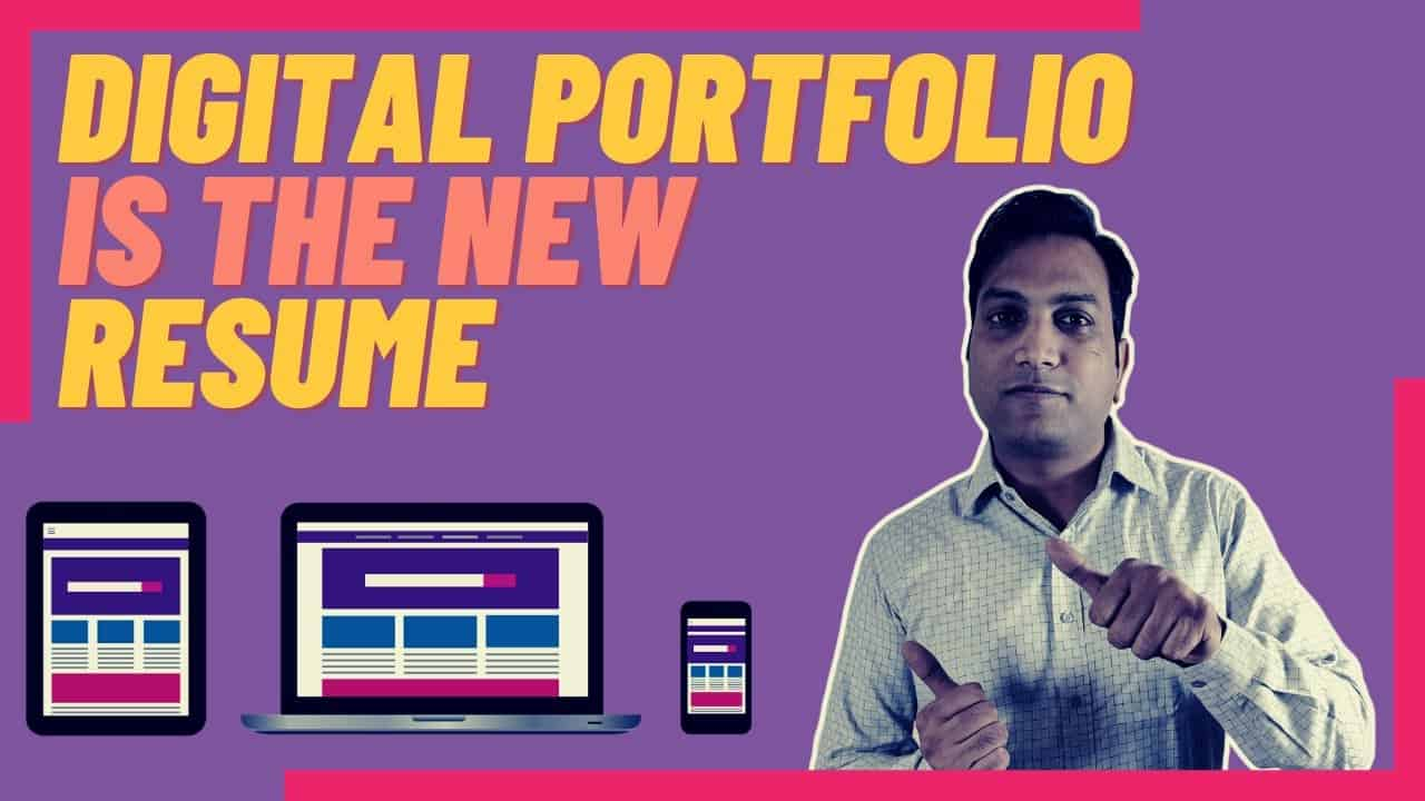 How to create/design a Digital Portfolio: tutorial, website & examples