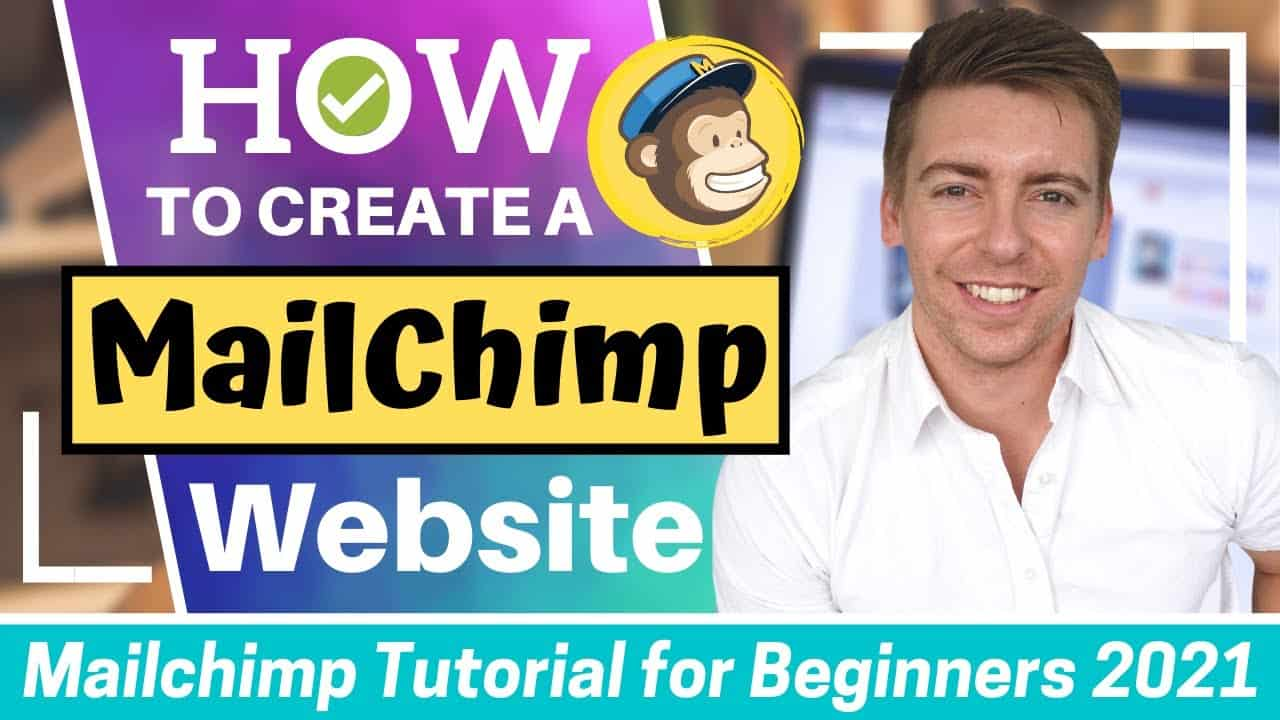 Mailchimp Tutorial for Beginners | How to Create a FREE Website with Mailchimp (Quick & Easy)
