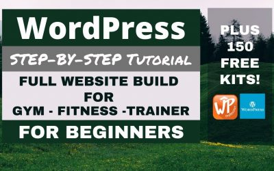 Do It Yourself – Tutorials – Make a Free WordPress Website for a Gym or Fitness Trainer Step by Step Tutorial –  No Steps Missed