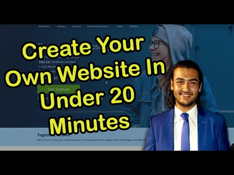 Quick-Step By Step Tutorial To Build Your Own Website Using Bluehost And Wordpress Under 20 Minutes