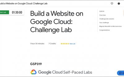 Do It Yourself – Tutorials – Qwiklabs – Build a Website on Google Cloud Challenge Lab