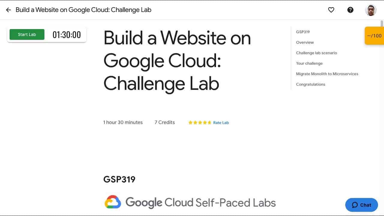 Qwiklabs - Build a Website on Google Cloud Challenge Lab