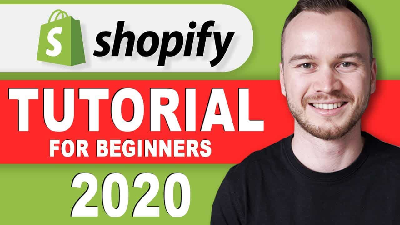 Shopify Tutorial For Beginners 2020 - Shopify Website Design
