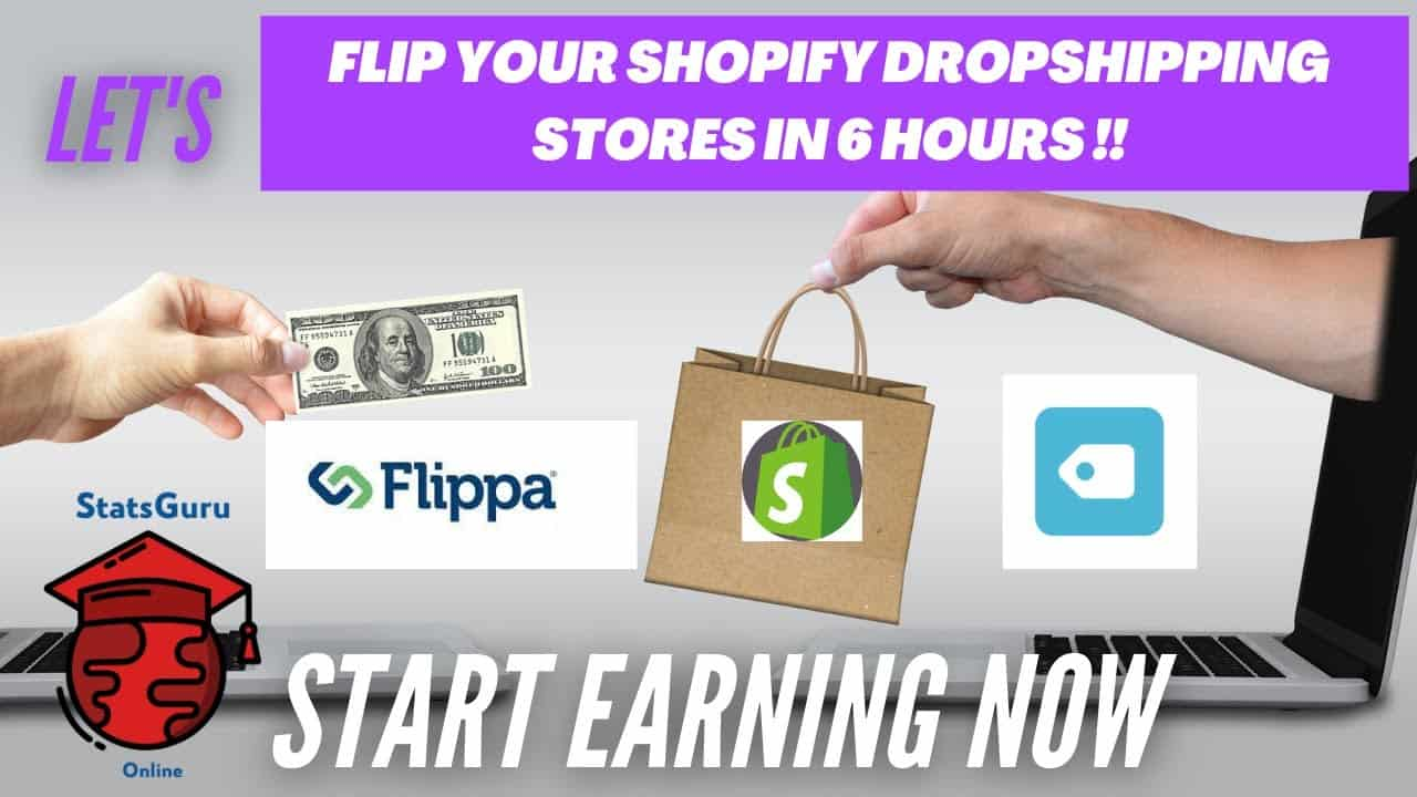 Shopify Website Design Tutorial 2020 | Earn Money Flipping Shopify Stores at Flippa.com