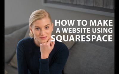 Do It Yourself – Tutorials – Squarespace Tutorial: How to build a website using Squarespace