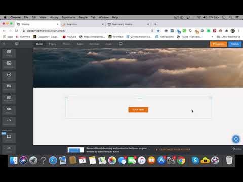 Super Fast Web Design using Weebly Lecture 3   Weebly Web Design Tutorial Part 2
