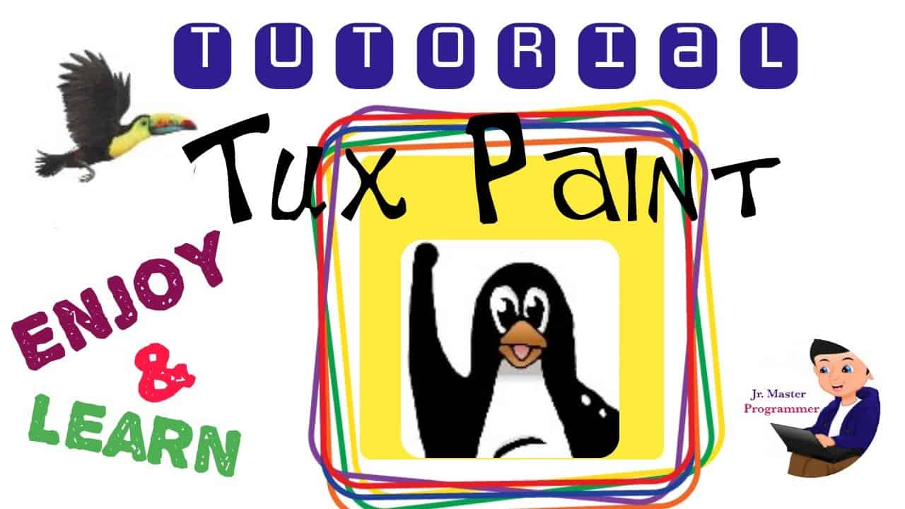 Tutorial on Tux Paint | Learn to draw & paint | #class3 #tuxpaint |cbse|#painting